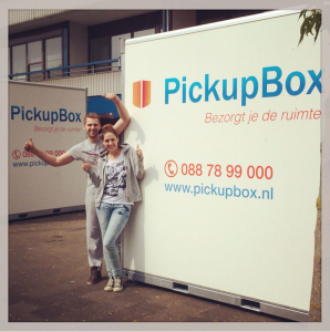 PickupBox is ideaal bij verhuizen en opslag