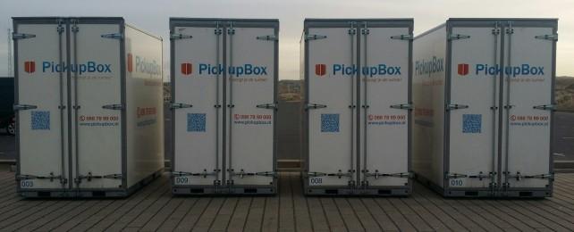 PickupBox ideaal voor terrasopslag
