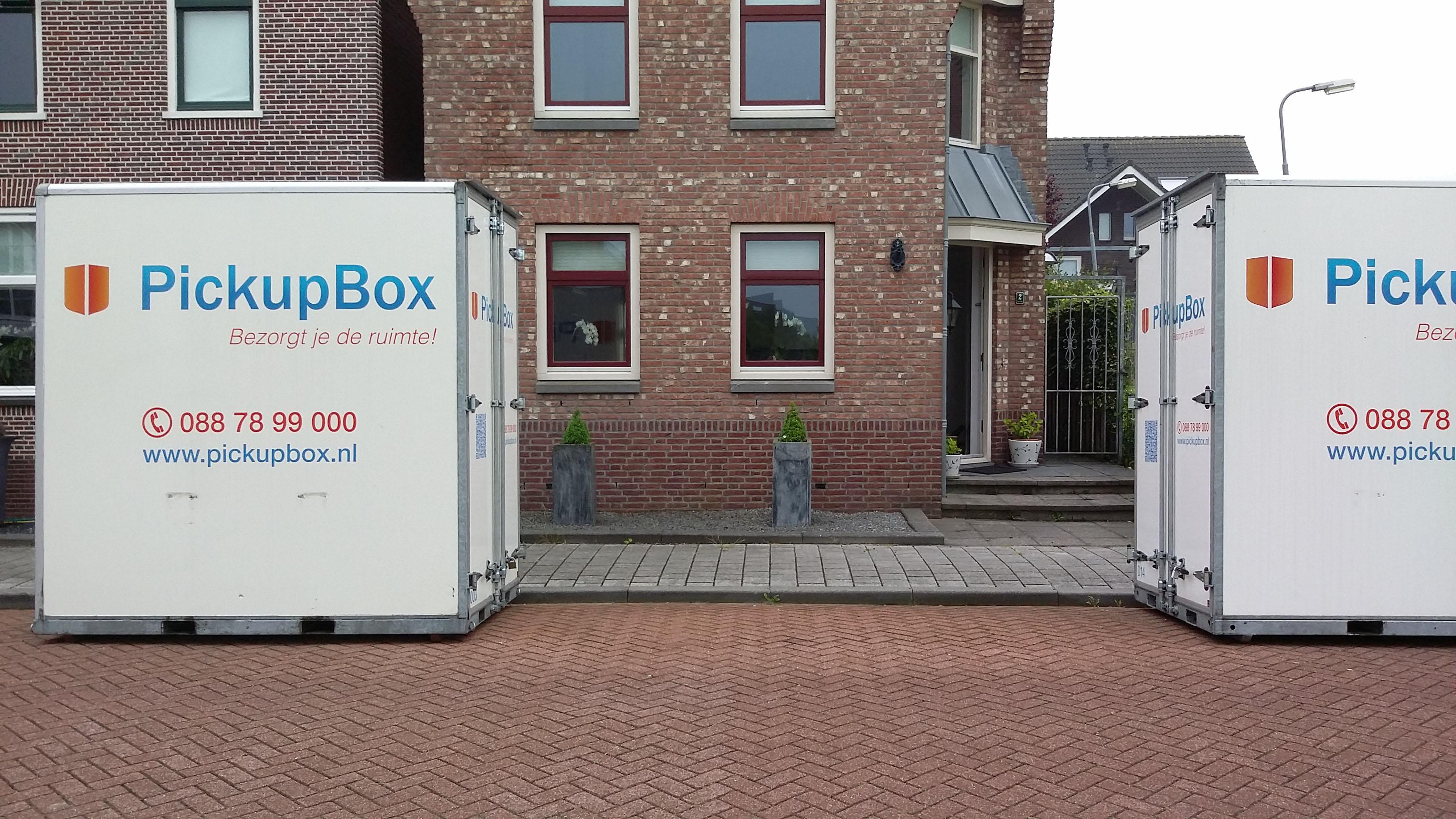 opslagruimte zoetermeer pickupbox gratis thuisbezorgd