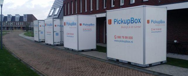 Verhuizen Almere, verhuisbox, verhuis container, verhuiscontainer huren
