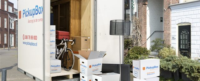 Opslagcontainer, verhuiscontainer, verhuiscontainer huren, verhuisbox